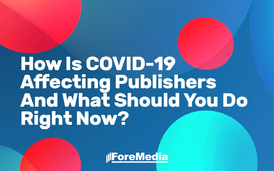 What publishers shoukd do duting COVID-19 pandemic